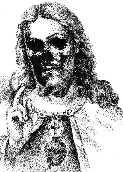 Jesus sketch 1