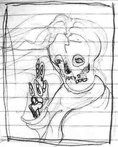 Jesus Sketch 3